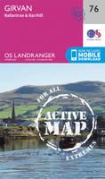 Ordnance Survey - Girvan, Ballantrae & Barrhill (OS Landranger Active Map) - 9780319473993 - V9780319473993