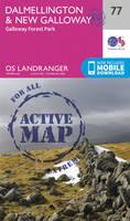 Ordnance Survey - Dalmellington & New Galloway, Galloway Forest Park (OS Landranger Active Map) - 9780319474006 - V9780319474006