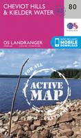 ORDNANCE SURVEY - Cheviot Hills & Kielder Water (OS Landranger Active Map) - 9780319474037 - V9780319474037