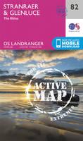 Ordnance Survey - Stranraer & Glenluce (OS Landranger Active Map) - 9780319474051 - V9780319474051