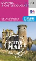 ORDNANCE SURVEY - Dumfries & Castle Douglas (OS Landranger Active Map) - 9780319474075 - V9780319474075