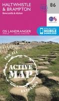 Ordnance Survey - Haltwhistle & Brampton, Bewcastle & Alston (OS Landranger Active Map) - 9780319474099 - V9780319474099