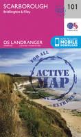 ORDNANCE SURVEY - Scarborough, Bridlington & Filey (OS Landranger Active Map) - 9780319474242 - V9780319474242