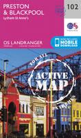Ordnance Survey - Preston & Blackpool, Lytham (OS Landranger Active Map) - 9780319474259 - V9780319474259