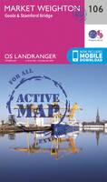 Ordnance Survey - Market Weighton, Goole & Stamford Bridge (OS Landranger Active Map) - 9780319474297 - V9780319474297