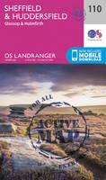 ORDNANCE SURVEY - Sheffield & Huddersfield, Glossop & Holmfirth (OS Landranger Active Map) - 9780319474334 - V9780319474334