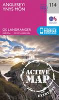 Ordnance Survey - Anglesey (OS Landranger Active Map) - 9780319474372 - V9780319474372