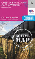 Ordnance Survey - Chester & Wrexham, Ellesmere Port (OS Landranger Active Map) - 9780319474402 - V9780319474402