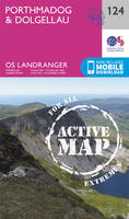 Ordnance Survey - Porthmadog & Dolgellau (OS Landranger Active Map) - 9780319474471 - V9780319474471