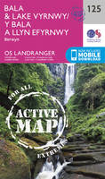 Ordnance Survey - Bala & Lake Vyrnwy, Berwyn (OS Landranger Active Map) - 9780319474488 - V9780319474488
