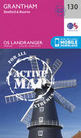 Ordnance Survey - Grantham, Sleaford & Bourne (OS Landranger Active Map) - 9780319474532 - V9780319474532