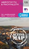 Ordnance Survey - Aberystwyth & Machynlleth (OS Landranger Active Map) - 9780319474587 - V9780319474587