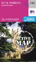 Ordnance Survey - Ely & Wisbech, Downham Market (OS Landranger Active Map) - 9780319474662 - V9780319474662