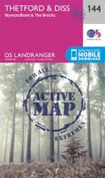 Ordnance Survey - Thetford & Diss, Breckland & Wymondham (OS Landranger Active Map) - 9780319474679 - V9780319474679