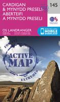 ORDNANCE SURVEY - Cardigan & Mynydd Preseli (OS Landranger Active Map) - 9780319474686 - V9780319474686