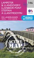 Ordnance Survey - Lampeter & Llandovery (OS Landranger Active Map) - 9780319474693 - V9780319474693