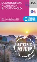 Ordnance Survey - Saxmundham, Aldeburgh & Southwold (OS Landranger Active Map) - 9780319474792 - V9780319474792