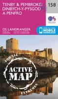 Ordnance Survey - Tenby & Pembroke (OS Landranger Active Map) - 9780319474815 - V9780319474815