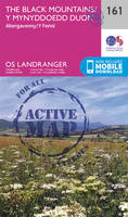 Ordnance Survey - The Black Mountains (OS Landranger Active Map) - 9780319474846 - V9780319474846