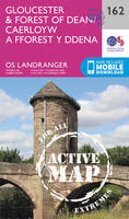 Ordnance Survey - Gloucester & Forest of Dean (OS Landranger Active Map) - 9780319474853 - V9780319474853