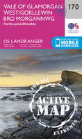 Ordnance Survey - Vale of Glamorgan, Rhondda & Porthcawl (OS Landranger Active Map) - 9780319474938 - V9780319474938