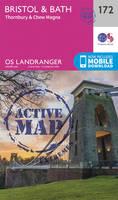 Ordnance Survey - Bristol & Bath, Thornbury & Chew Magna (OS Landranger Active Map) - 9780319474952 - V9780319474952