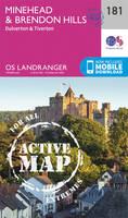 Ordnance Survey - Minehead & Brendon Hills, Dulverton & Tiverton (OS Landranger Active Map) - 9780319475041 - V9780319475041