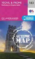 Ordnance Survey - Yeovil & Frome (OS Landranger Active Map) - 9780319475065 - V9780319475065