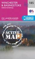 Ordnance Survey - Winchester & Basingstoke, Andover & Romsey (OS Landranger Active Map) - 9780319475089 - V9780319475089