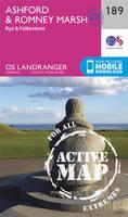 Ordnance Survey - Ashford & Romney Marsh, Rye & Folkestone (OS Landranger Active Map) - 9780319475126 - V9780319475126