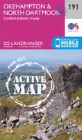 ORDNANCE SURVEY - Okehampton & North Dartmoor (OS Landranger Active Map) - 9780319475140 - V9780319475140