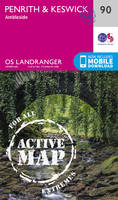 ORDNANCE SURVEY - Penrith & Keswick (OS Landranger Active Map) - 9780319475393 - V9780319475393