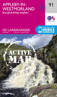Ordnance Survey - Appleby-In-Westmorland (OS Landranger Active Map) - 9780319475409 - V9780319475409