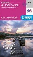 ORDNANCE SURVEY - Kendal & Morecambe (OS Landranger Active Map) - 9780319475423 - V9780319475423