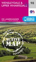Ordnance Survey - Wensleydale & Upper Wharfedale (OS Landranger Active Map) - 9780319475430 - V9780319475430