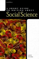 Cuba, Lee J. - A Short Guide to Writing about Social Science (4th Edition) - 9780321078421 - V9780321078421