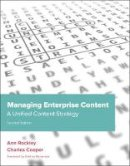 Rockley, Ann; Cooper, Charles - Managing Enterprise Content - 9780321815361 - V9780321815361