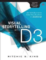 King, Ritchie - Visual Storytelling with D3 - 9780321933171 - V9780321933171