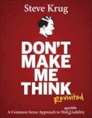 Krug, Steve - Don't Make Me Think - 9780321965516 - V9780321965516
