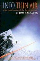 Krakauer, Jon - Into Thin Air - 9780330353977 - KSG0003632