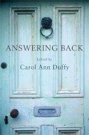Duffy, Carol Ann - Answering Back - 9780330448246 - V9780330448246