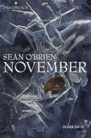 O'Brien, Sean - November (Picador Poetry) - 9780330535007 - KOC0008880
