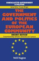 Nugent, Neill - Government and Politics of the European Community (Comparative Government & Politics) - 9780333557990 - KEX0283955