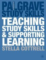 Cottrell, Stella - Teaching Study Skills and Supporting Learning (Palgrave Study Skills) - 9780333921241 - V9780333921241
