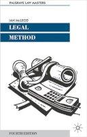 McLeod, Ian - Legal Method - 9780333970256 - KRS0012484