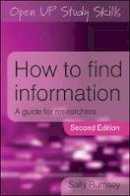 Rumsey, Sally - How to Find Information - 9780335226313 - V9780335226313