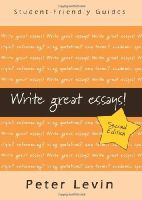Levin, Peter - Write Great Essays - 9780335237272 - V9780335237272