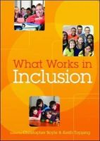 Boyle, Chris; Topping, Keith - What Works in Inclusion? - 9780335244683 - V9780335244683