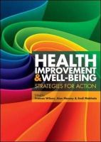 Wilson, Frances, Mabhala, Mzwandile, Massey, Alan - Health Improvement and Well-being: Strategies for Action - 9780335244959 - V9780335244959