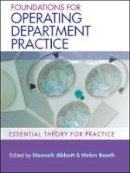 Abbott, Hannah, Booth, Helen - Foundations of Operating Department Practice - 9780335244973 - V9780335244973